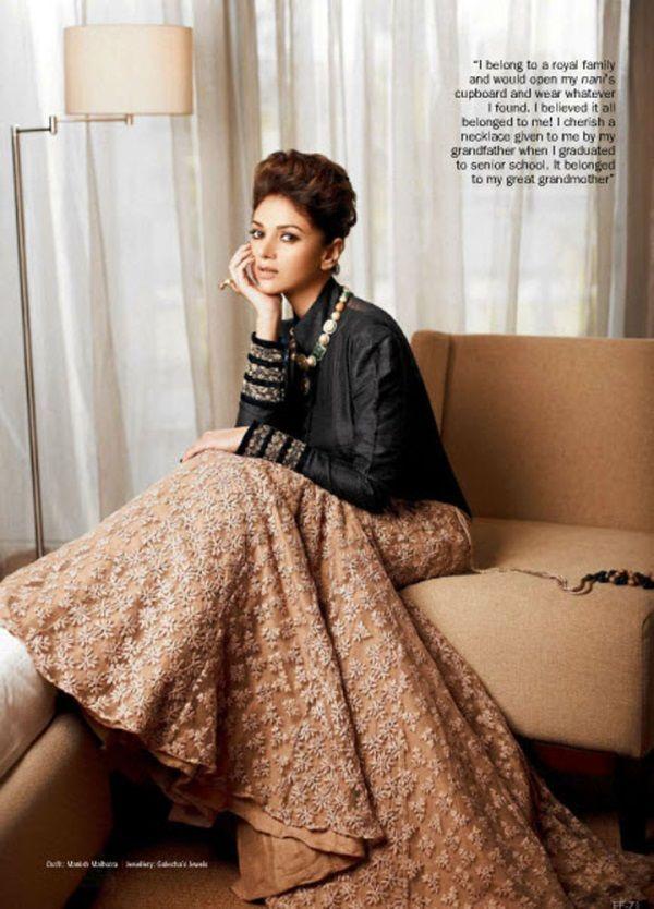 The Bride's Lookbook: Aditi Rao Hydari for Filmfare