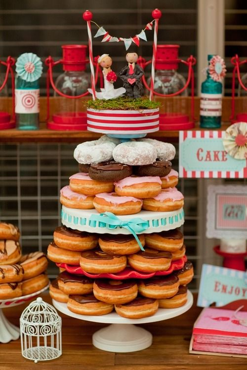 Donut Cake From Foodnetwork