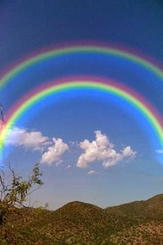 real double rainbows in the sky google search clouds and