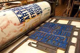 Image Result For Letterpress Printing Process