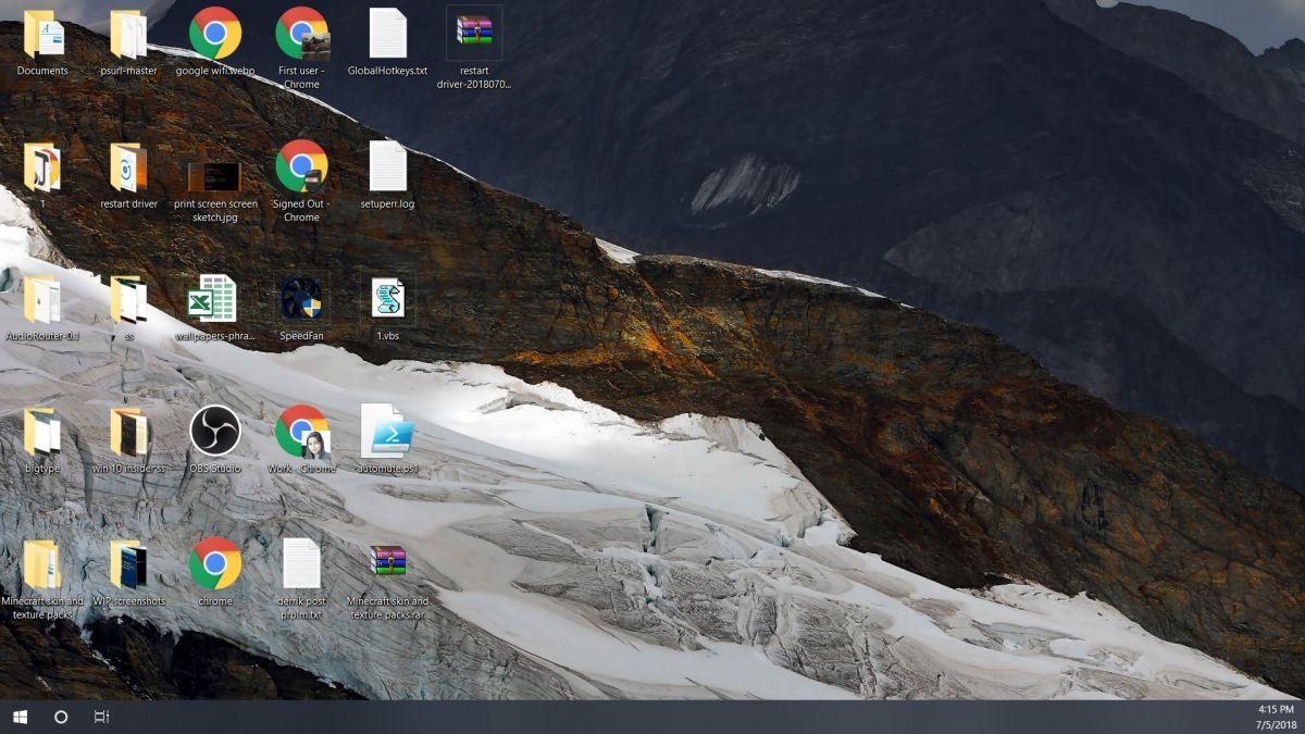 Windows 10 Alienware 4k Wallpaper I made several months