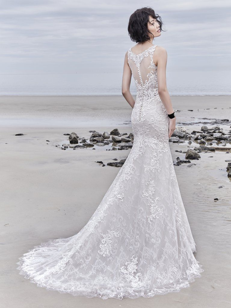 Designer beach wedding dresses  AVONTE by Sottero and Midgley Wedding Dresses  F  Gowns