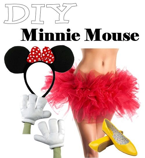 Homemade Minnie Mouse Costumes Tutu