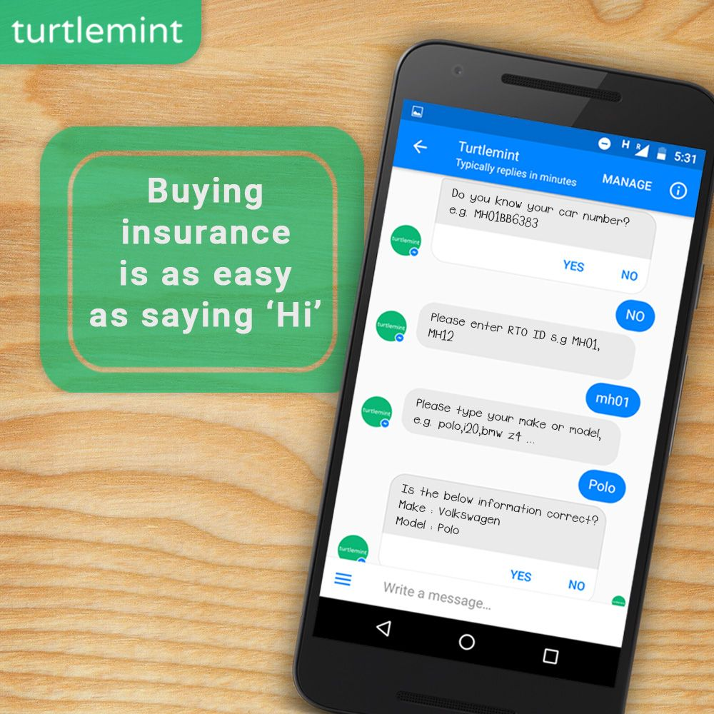 Introducing The Turtlemint Chatbot India S First And Only