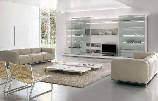 Mobili da soggiorno moderno di Alivar | pareti attrezzate ...