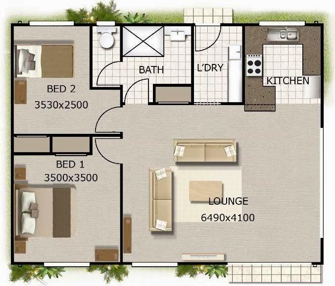 Plano de casa de 80 metros cuadrados mis proximas for Diseno de apartamentos de 90 metros cuadrados