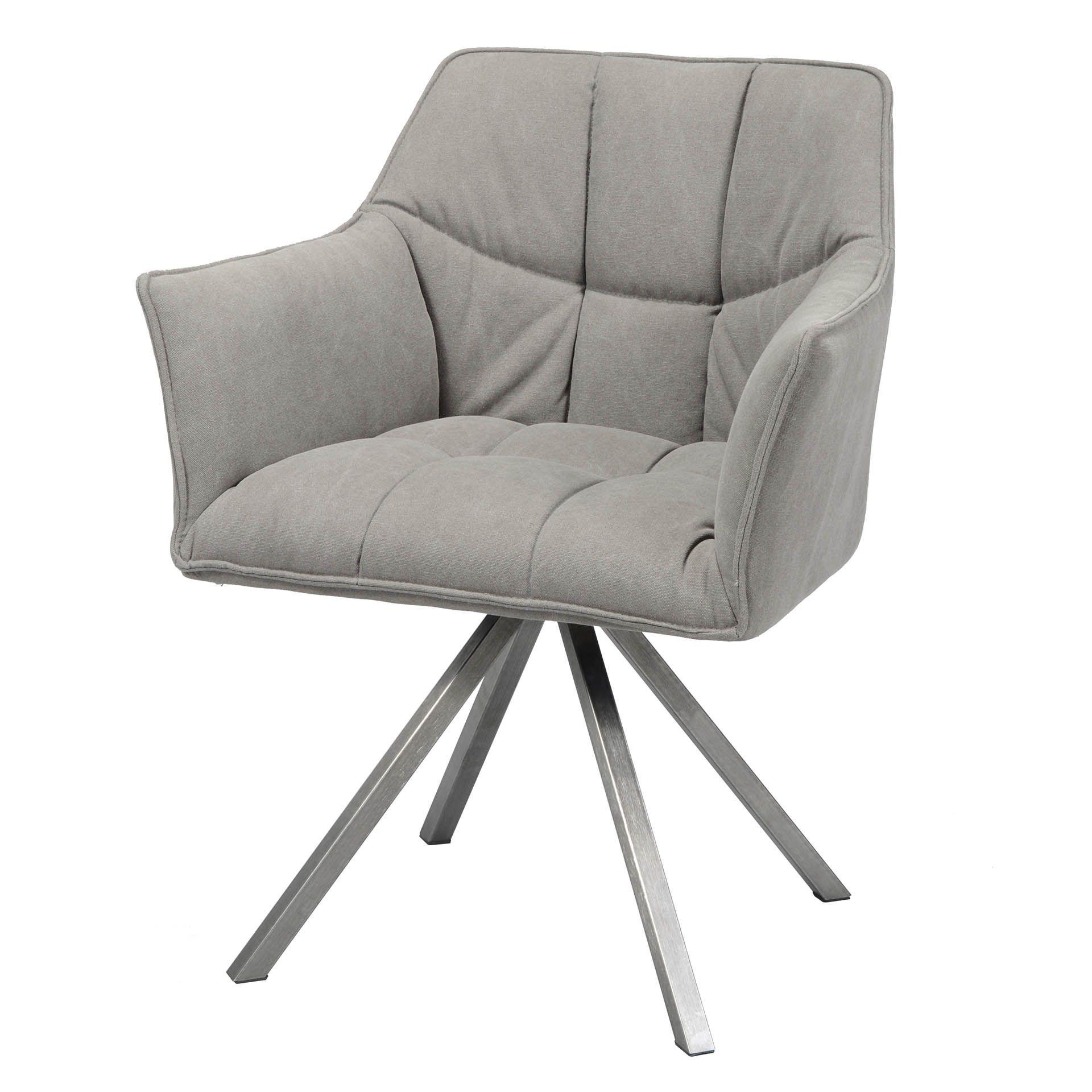 Unser Armlehnenstuhl Grid Uberzeugt Auf Vielen Wegen Hervorzuheben Ist Die Moderne Steppung In Sitz Und Rucken Sowie Der R Polsterstuhl Stuhle Esstisch Sessel