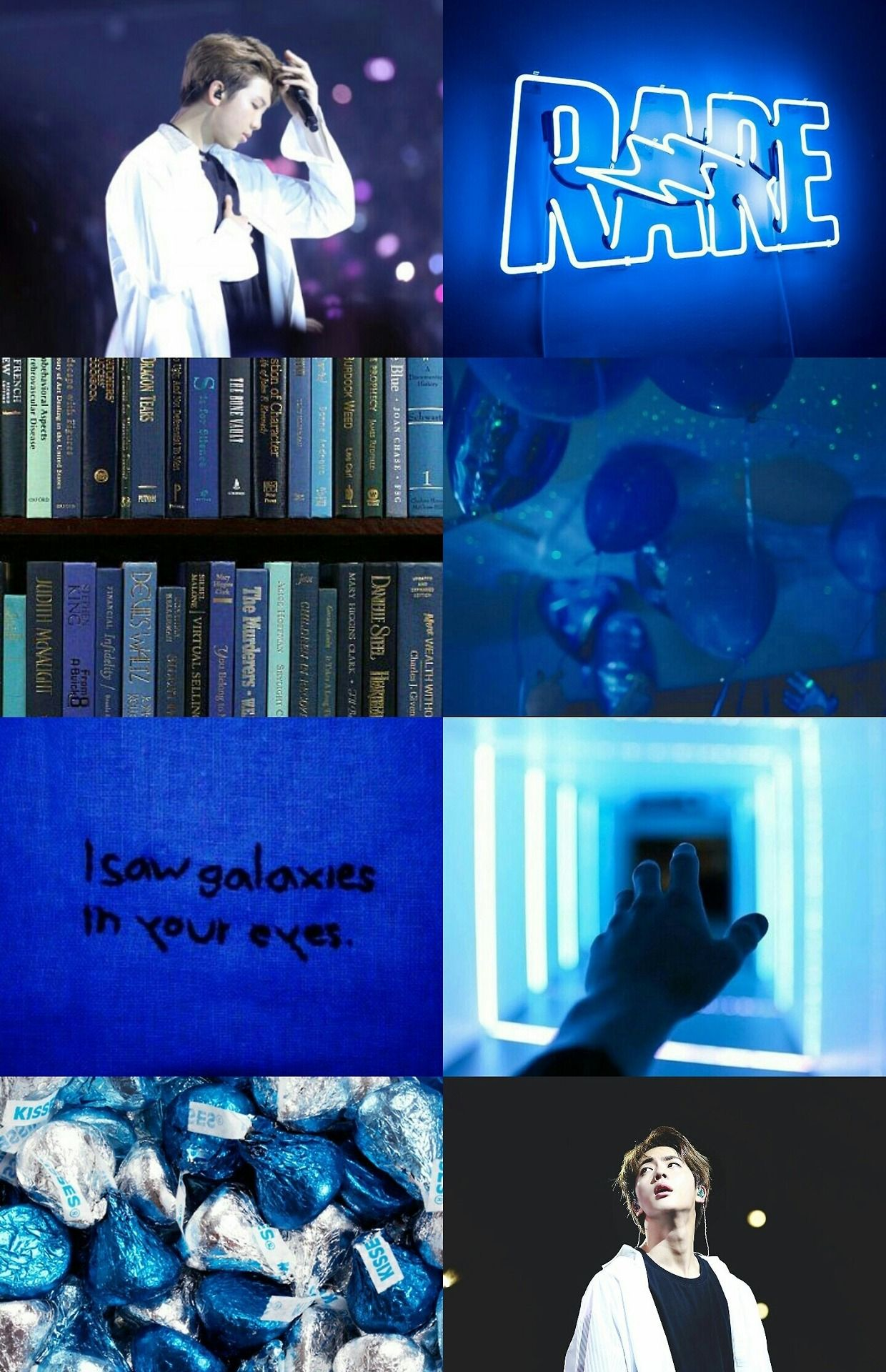 Bts Dark Blue Aesthetic