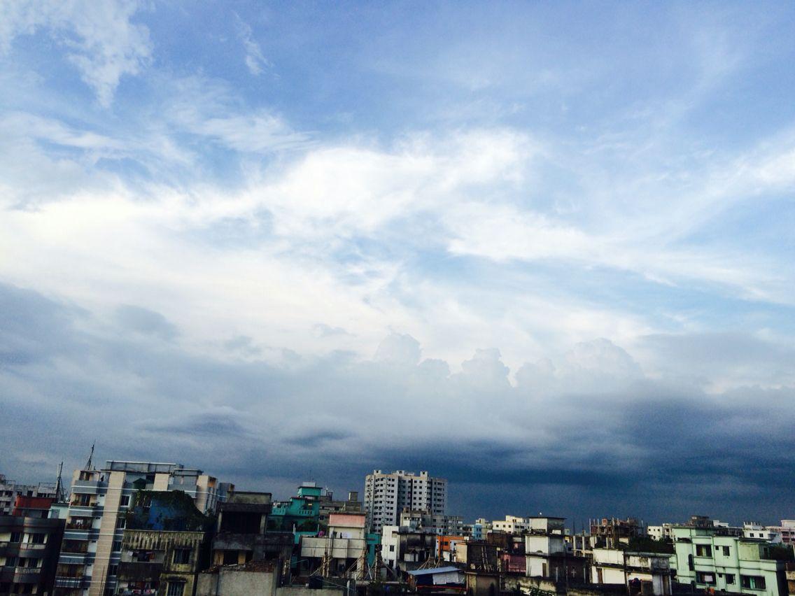 Blue Sky Dhaka Bangladesh Dhaka Bangladesh Dhaka Blue Sky