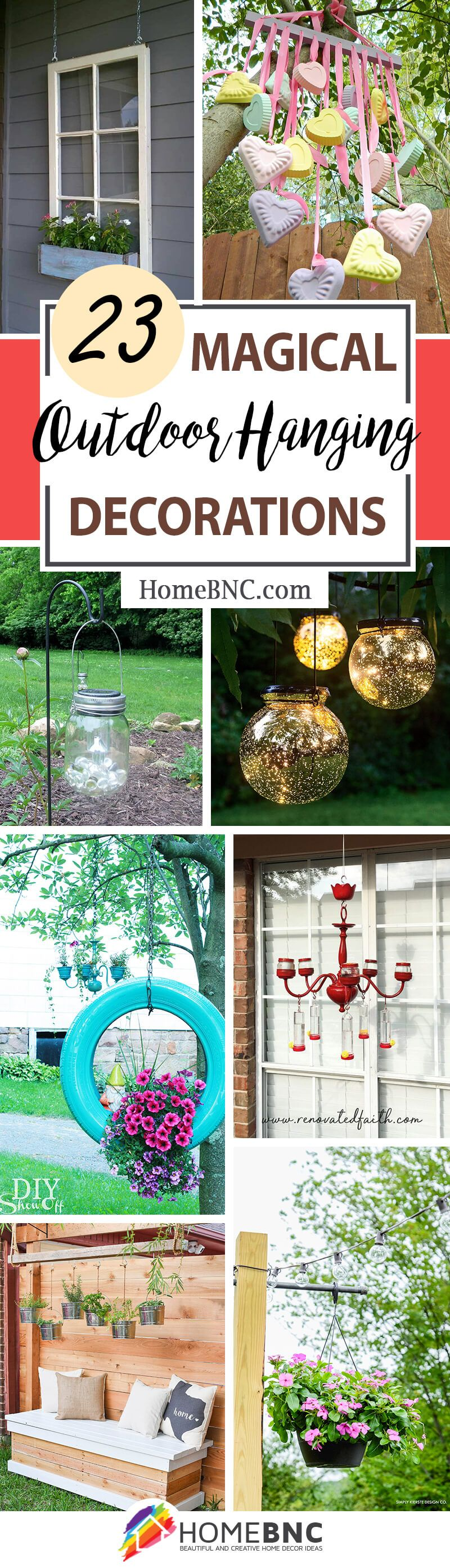 10 Magical Outdoor Hanging Decoration Ideas to Bring Your Patio to