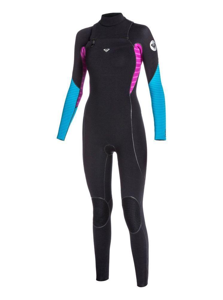 NEW Roxy Womens Full Wetsuit Size 14 Chest Zip Ignite 3 2mm NWT ... 83b032375