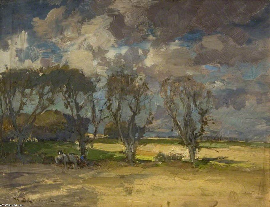 Scène de ferme de William Bradley Lamond (1857-1924, United Kingdom)