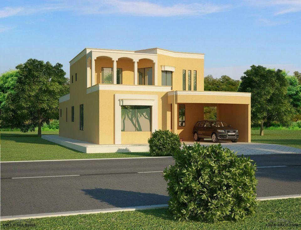 واجهات فلل جديدة ومتنوعة الأستايل House Elevation House Styles New Cairo City