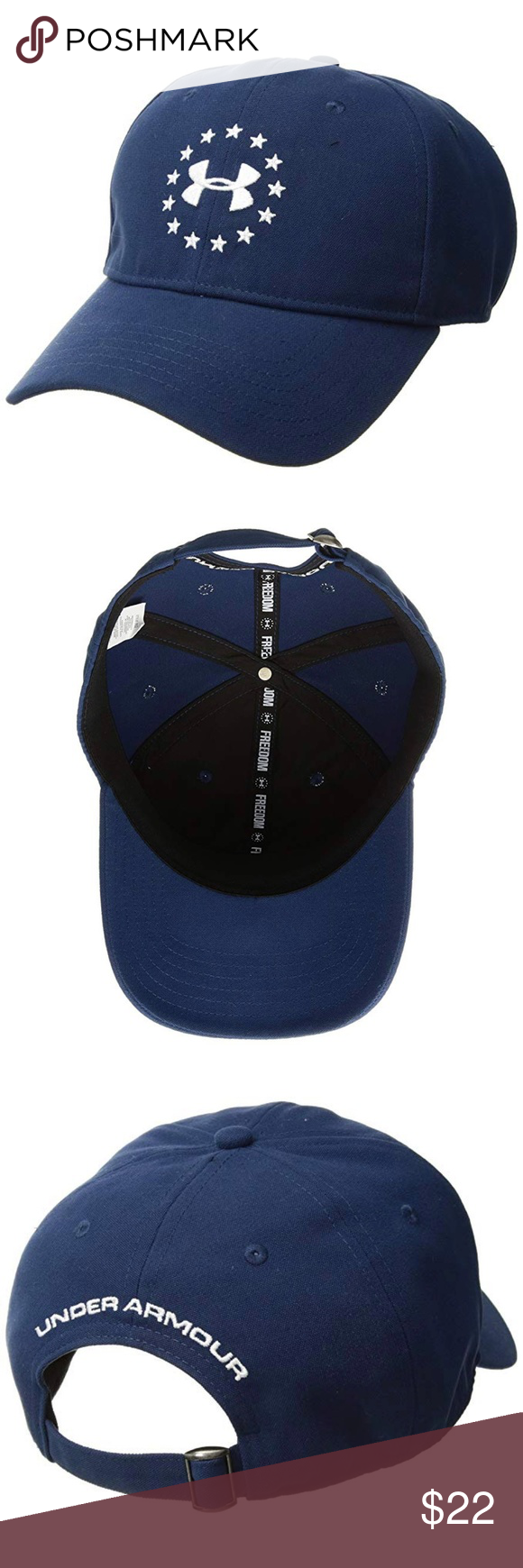 classic fit quality products official Under Armour Freedom Heatgear Baseball Cap Hat New Under Armour ...