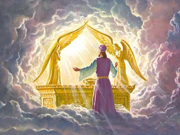 God's glory – a practical application | Worship art, Biblical art, Shekinah