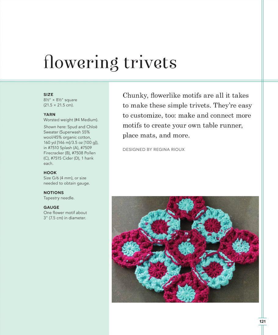 Crochet Knitting Handicraft: Crochet for the kitchen | Häkeln ...