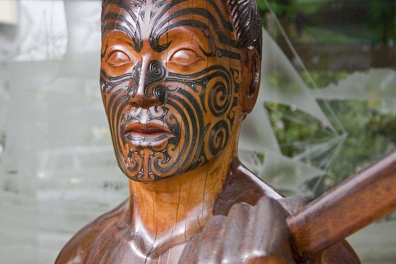 Maori Carving, Government Gardens, Rotorua