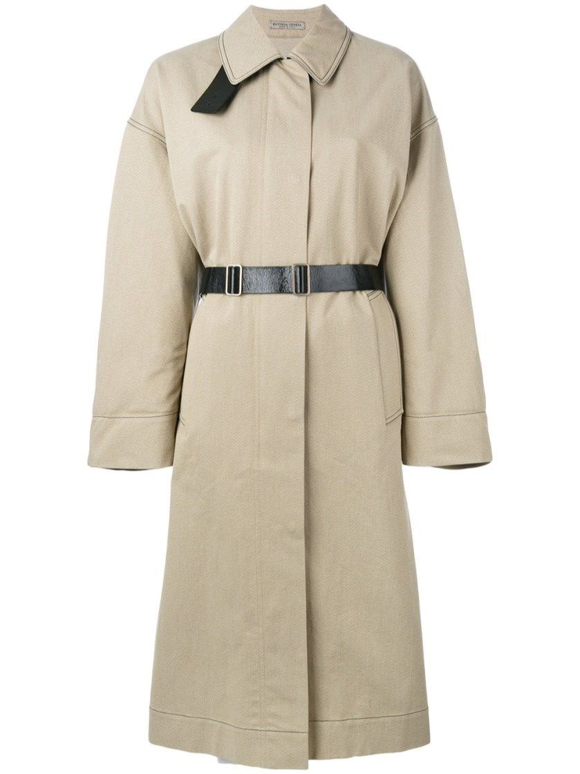 BOTTEGA VENETA Beige Cotton Trench. #bottegaveneta #cloth #tranch coats