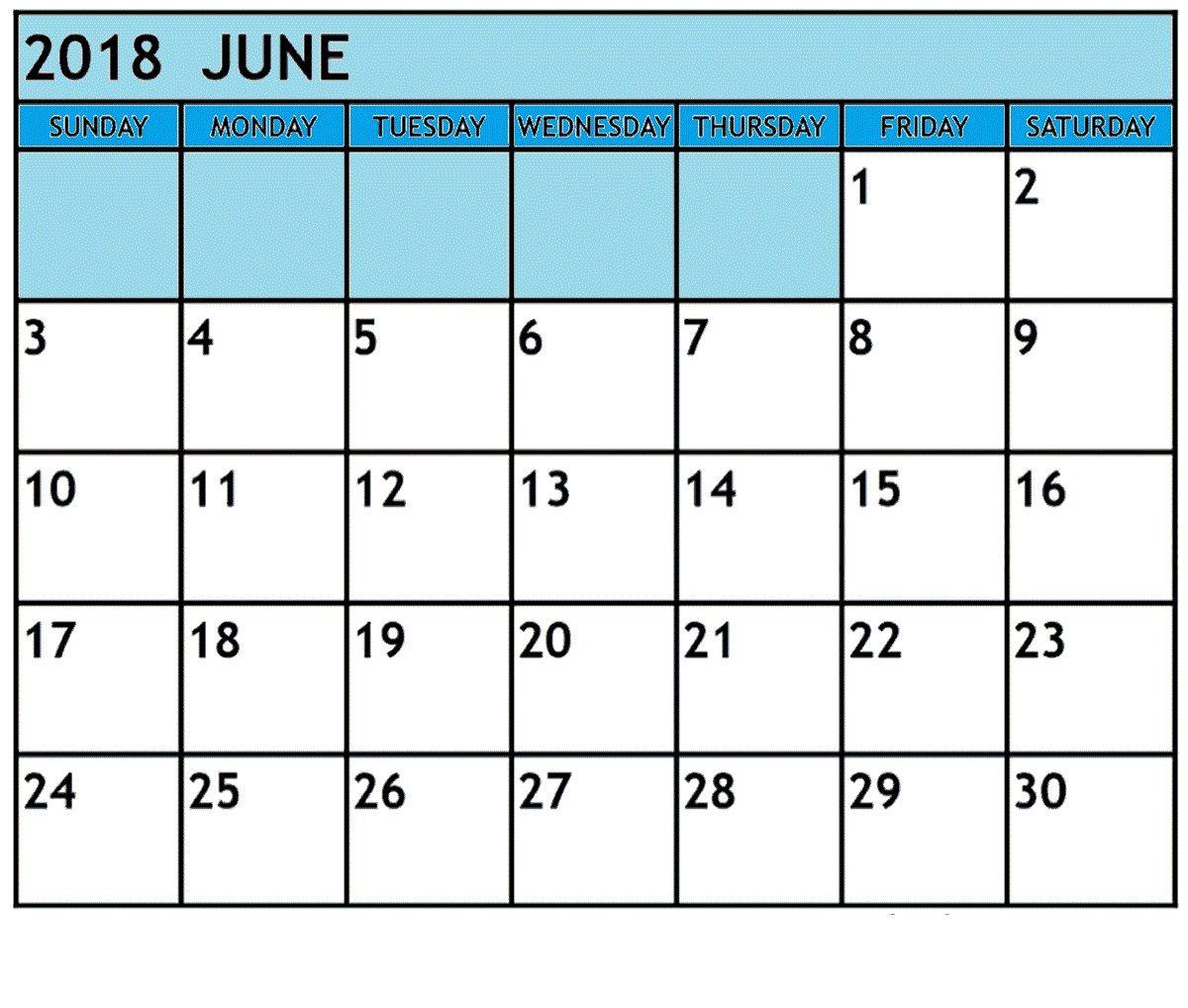 June 2018 Waterproof Calendar November calendar, Monthly