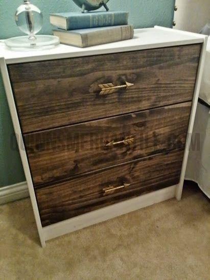 Arrow Drawer Pull Diy Nightstand Diy Furniture Diy Home Decor