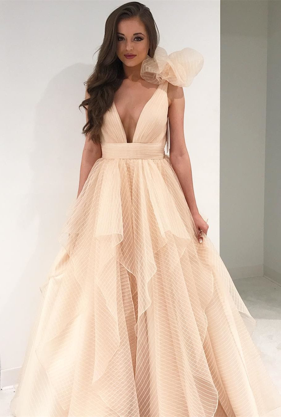 Champagne Graduation Dresses