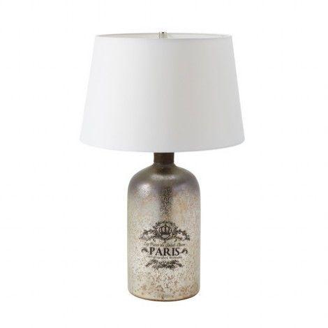 Lampe De Table Au Fini Mercure Antique, Chandelier Table Lamps Australia