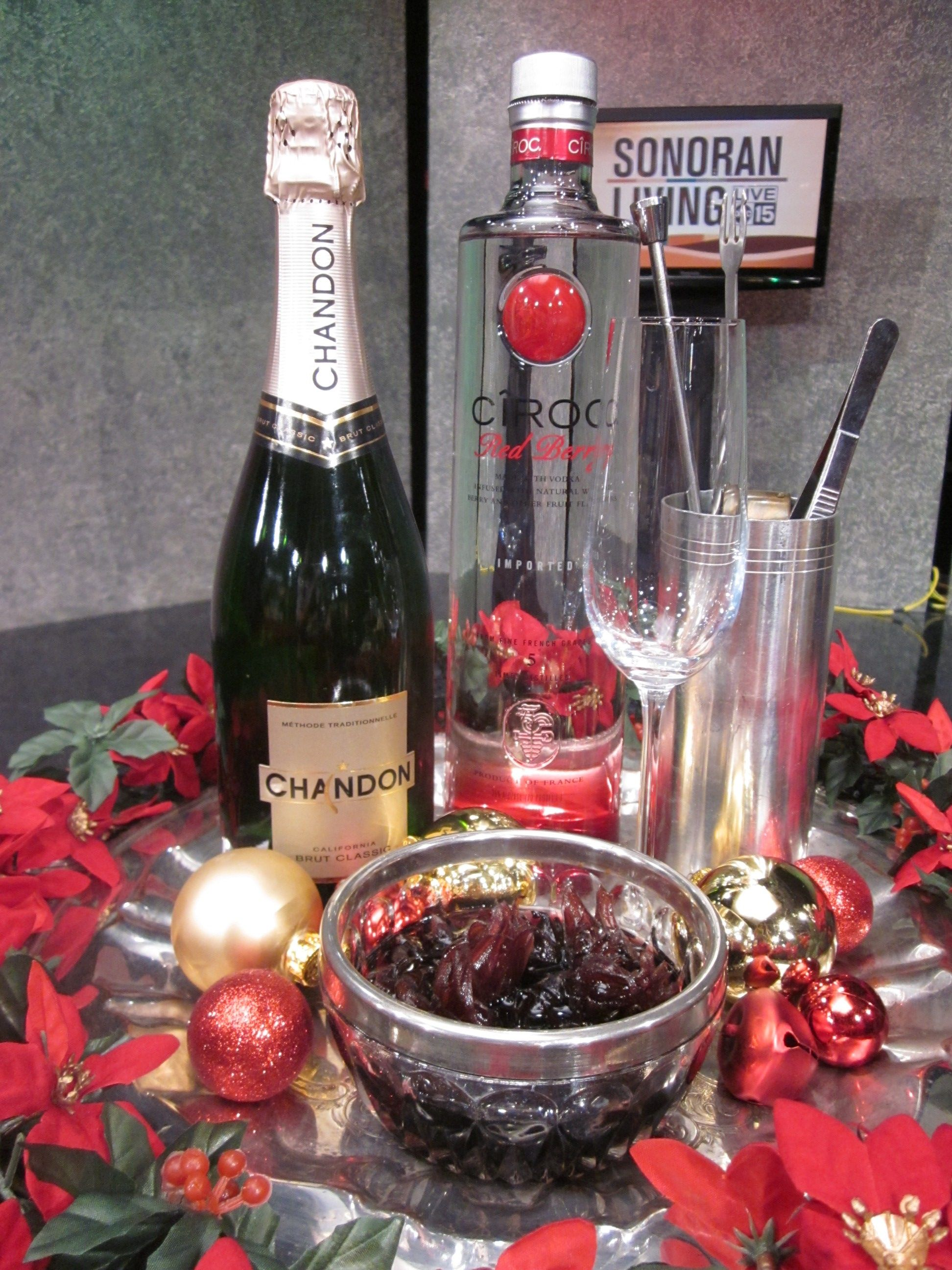 Hibiscus cooler 1 oz ciroc red berry chandon sparkling 1 tsp wild hibiscus cooler 1 oz ciroc red berry chandon sparkling 1 tsp wild hibiscus syrup place hibiscus flower at bottom of glass for garnish izmirmasajfo