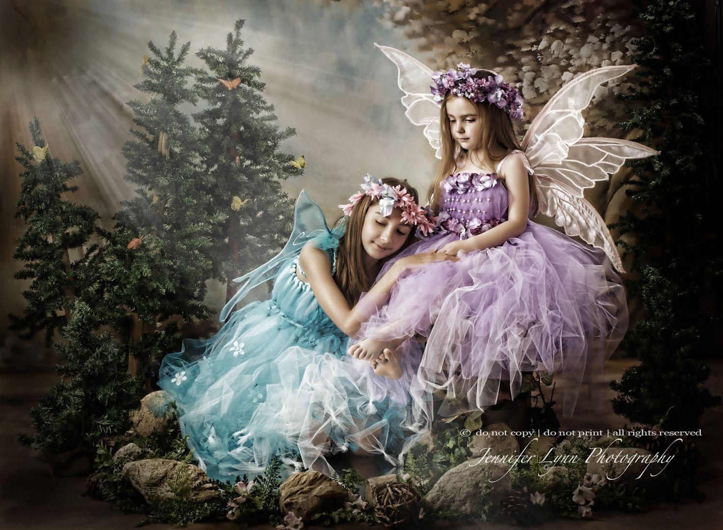 Beautiful Little Girl Fairies