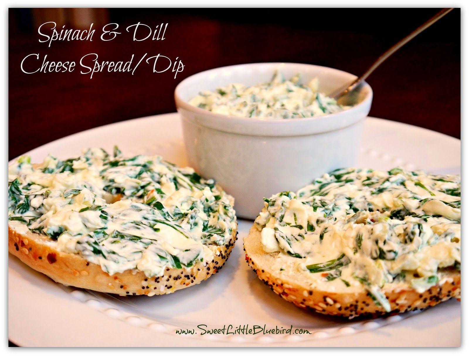 Spinach and Dill Cheese Spread (Spinach, Cream Cheese, Feta, Lemon, Dill, Green Onion, Garlic)