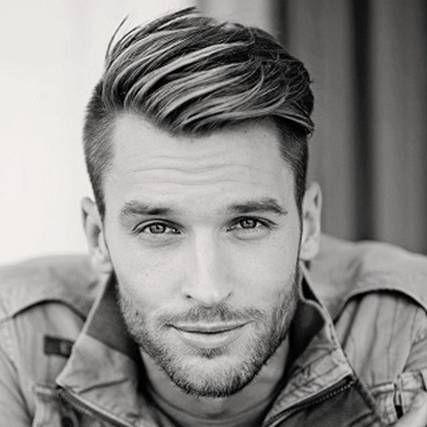 Hairstyles For Men With Widows Peak Wavy Hair Men Mens