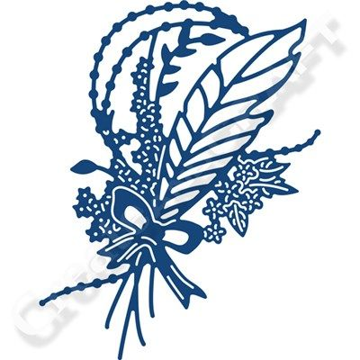 Tattered Lace Feather Embellishment Die (361984) | Create and Craft