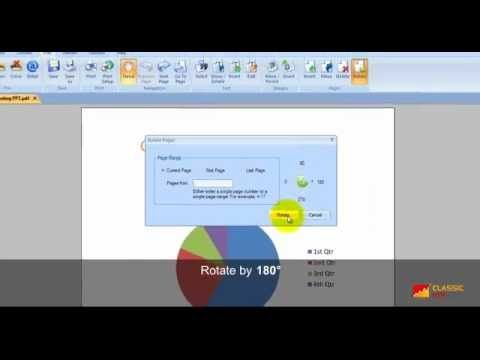 How To Rotate Pdf Page Rotating Pdf Page