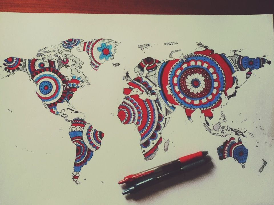 World map drawing tumblr google search live fiercely and love world map drawing tumblr google search gumiabroncs Gallery
