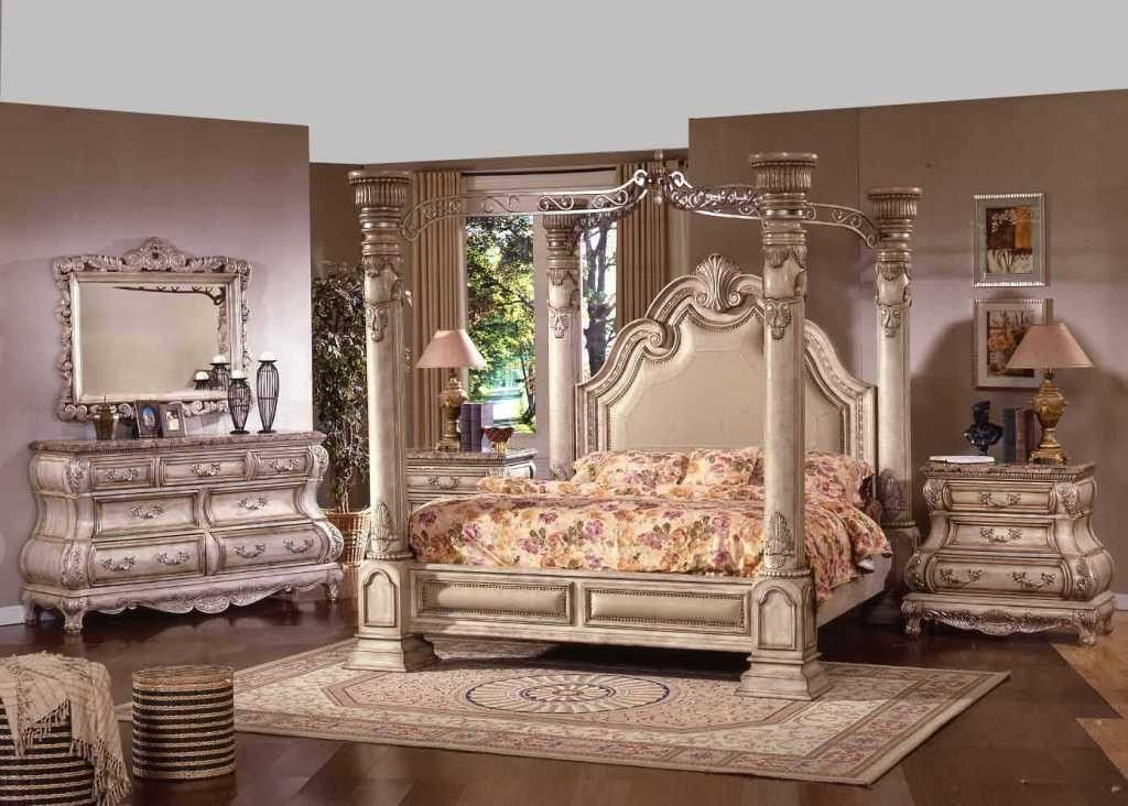 Traditional King Bedroom Sets Canopy Bedroom Sets Luxury