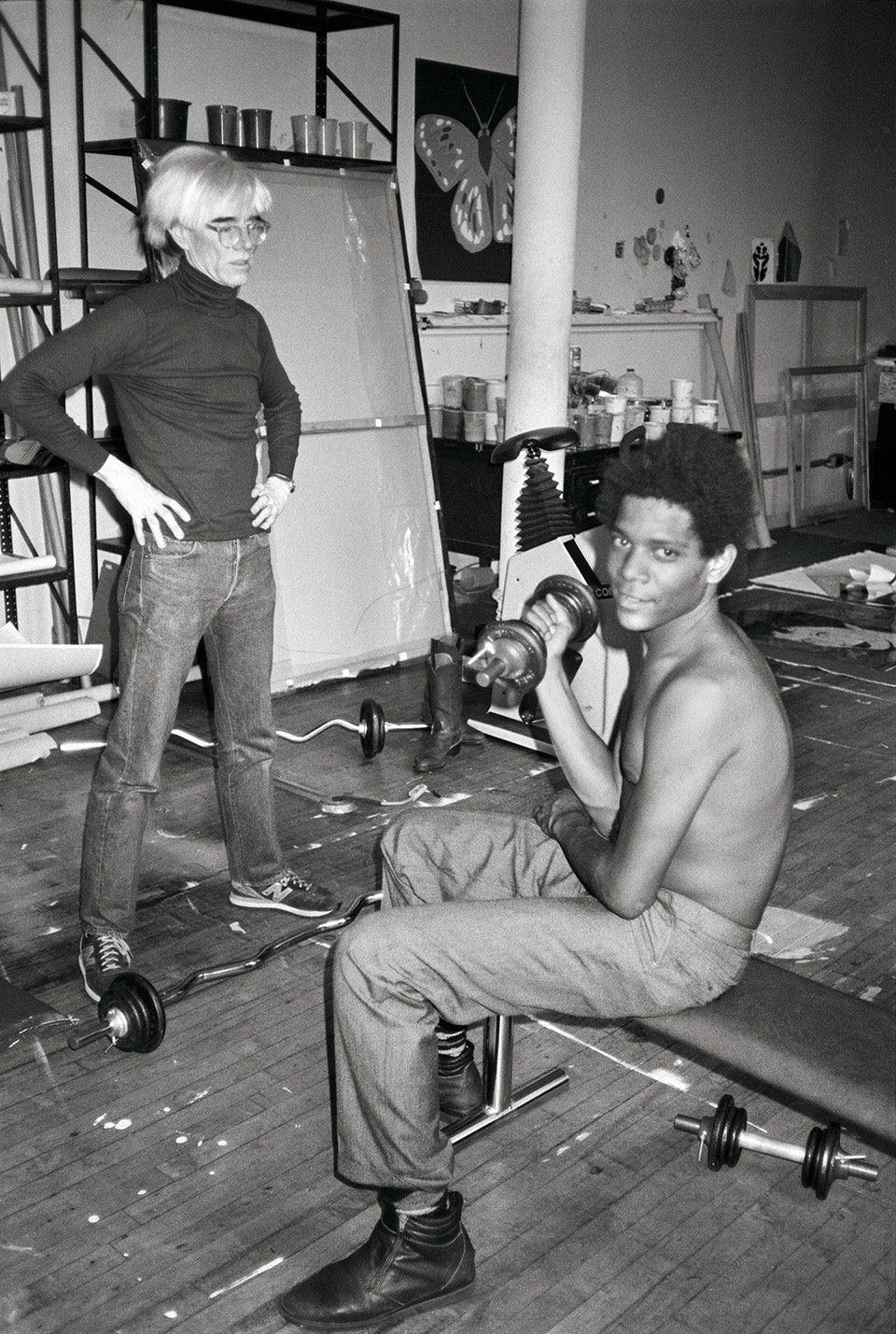 VICE - Intimate, Unseen Photos Chronicle the Complex Friendship of Andy Warhol and Jean-Michel Basquiat