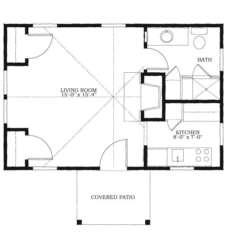 allison ramsey newpoint guest cottage | little house | pinterest