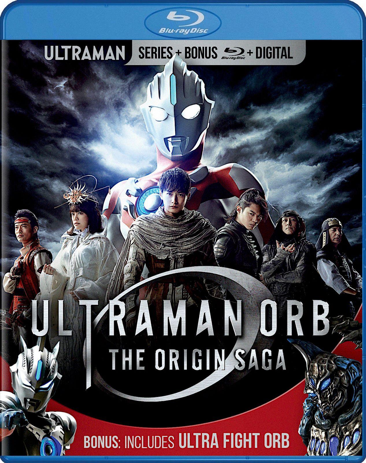 ULTRAMAN ORB THE ORIGIN SAGA + ULTRA FIGHT ORB BLURAY