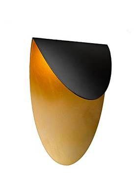 227170102 Lips led-seinävalaisin, led 4,5W, musta / kulta, Trio Lifestyle - Seinävalaisimet - 100998 - 1