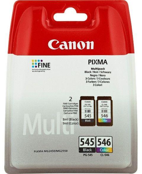 Pack Canon 545 546 Tinta Canon Tinta Cartuchos De Tinta Y Canon