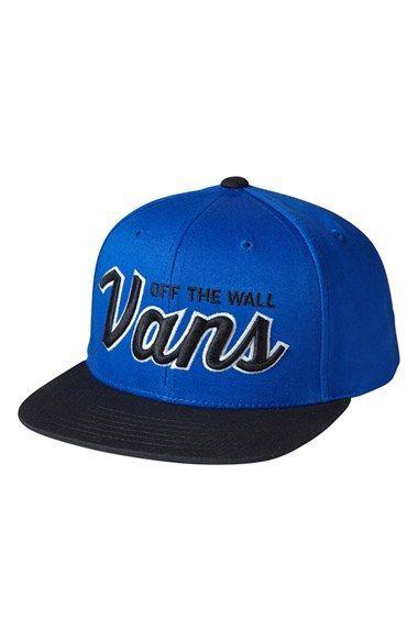 3b757b69e7a Vans  Wilmington  Snapback Hat (Big Boys)