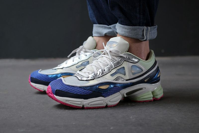 Image of Raf Simons x adidas Ozweego 2 Chalk White Multi Shoes Sneakers,  Sneakers 69aa2a8c305