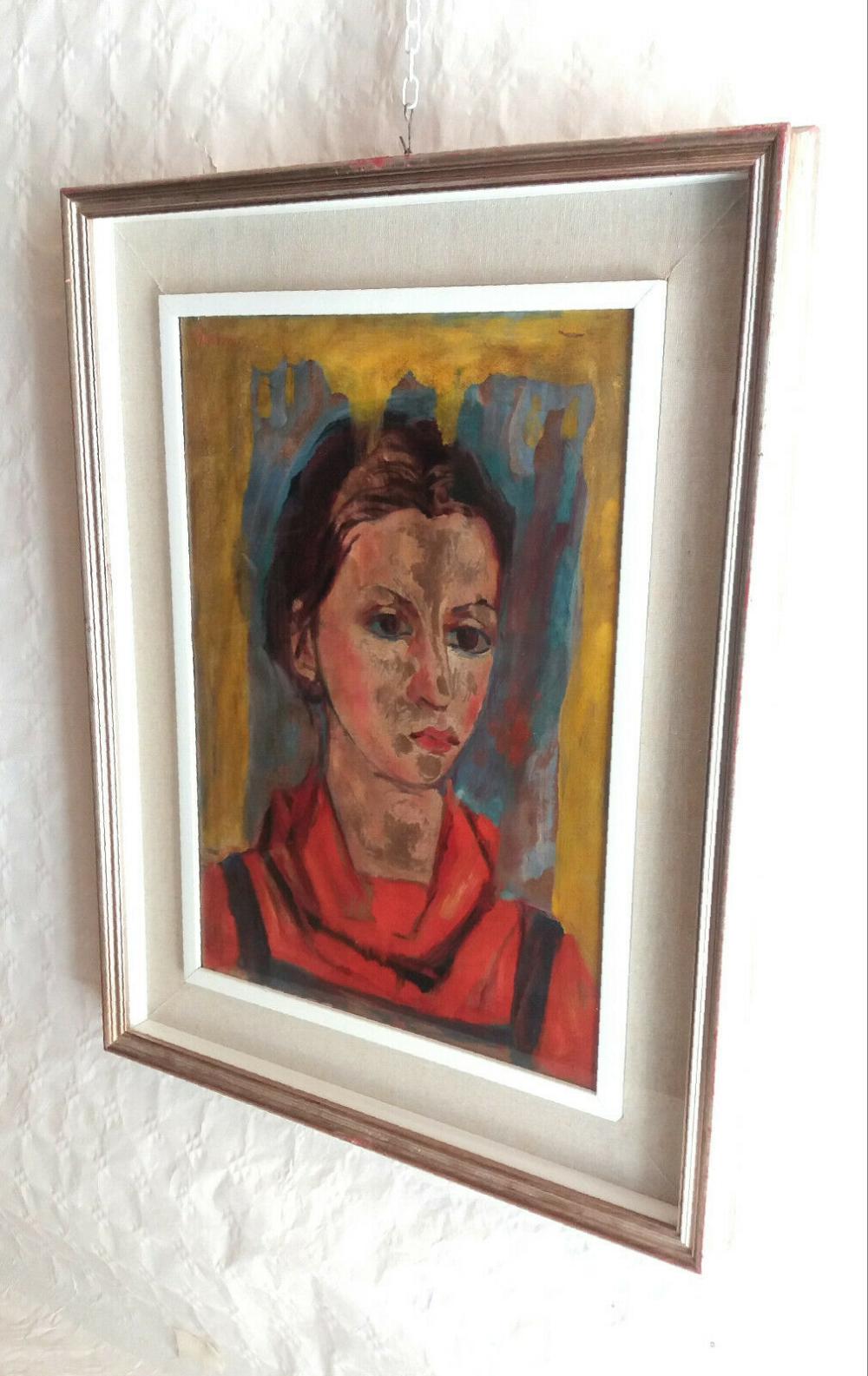 Dettagli su Quadro Olio su tela firmato Marrano 1975 arte