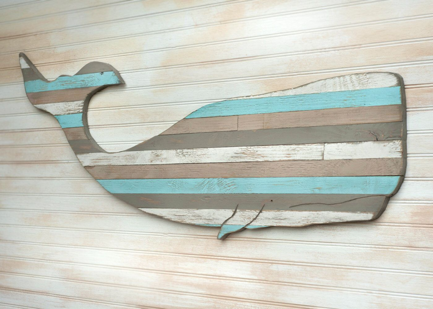 Pallet Whale Wooden Whale Art Beach House Decor Nautical Decor