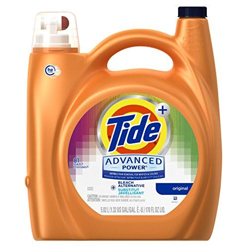 Robot Check Liquid Laundry Detergent Bleach Alternative Tide