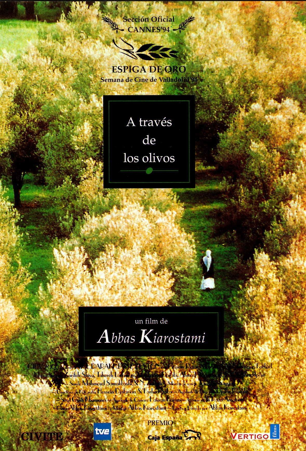 Abbas Kiarostami: A Tribute in Posters in 2020 | Olive tree, Spanish  movies, Poster