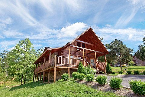 Horsin Around Cabin Rental Near Pigeon Forge Tn Features Include 2 King Bedroom Suites With