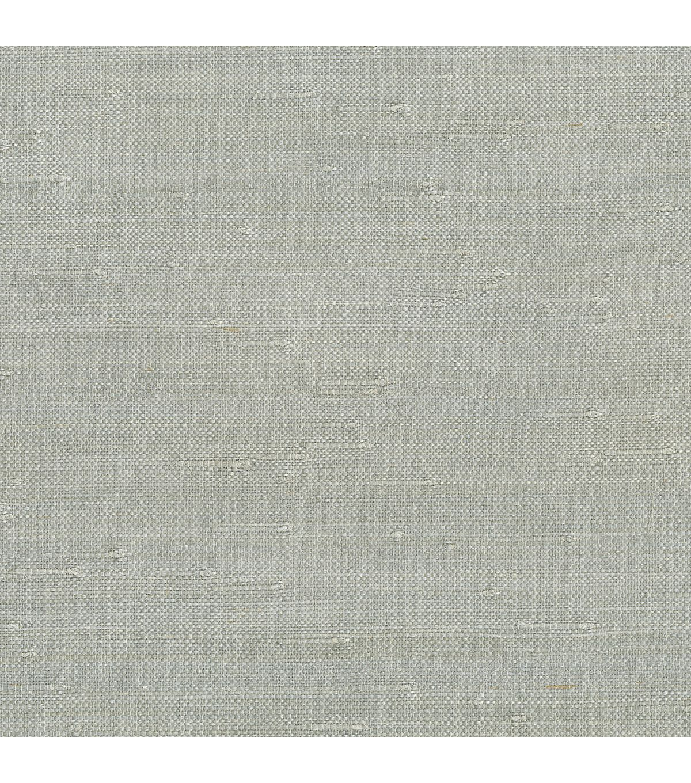 Jin Light Grey Grasscloth WallpaperJin Light Grey