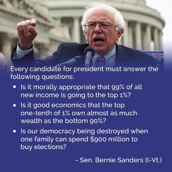Bernie Sanders for President!