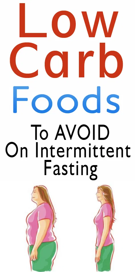 Low Carb Intermittent Fasting Food List