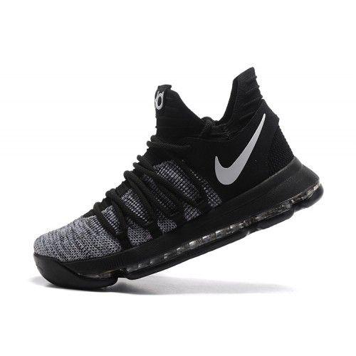 Sale Nike KD 10 Grey Black Mens